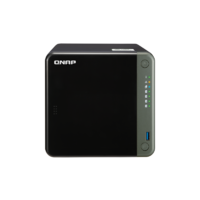QNAP TS-453D-8G 4-Bay NAS Intel Celeron J4125 quad-core 2.0GHz (up to 2.7GHz) 8GB DDR4 SODIMM RAM