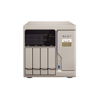 QNAP TS-677-1600-8G 6-Bay Diskless NAS - AMD Ryzen 5 1600 6-Core CPU 8GB