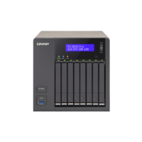 "QNAP TS-853S Pro, 8 Bay 2.5"" (SSD or SATA) Hotswap NAS, Intel Celeron 2.0GHz Quad Core, 4Gb DDRIII (up to 8Gb) EX-DEMO"