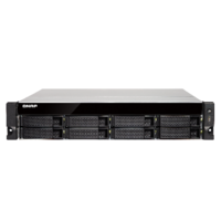 QNAP TS-873U-RP-8G 8 Bay quad-core NAS with dual 10GbE SFP+ ports 8GB RAM