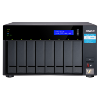 QNAP TVS-872N-I3-8G 8 Bay Diskless NAS intel Core i3-8100T 4 Core 3.1GHz 8GB