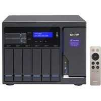 QNAP TVS-882-i5-16G 8 Bay Diskless NAS i5-7500 Quad-core 16GB RAM