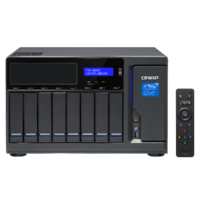 QNAP TVS-882BR-i5-16G 8 Bay Diskless NAS Quad-core i5-7500 CPU 16GB RAM