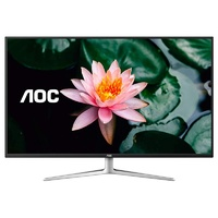 "AOC U4308V 42.5"" 4K UHD Wideview Flicker-Free IPS Monitor"