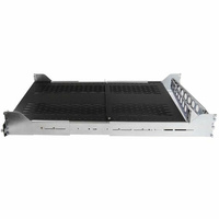 StarTech 2U Adjustable Vented Sliding Rack Shelf