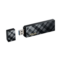 ASUS USB-AC55 Dual-Band Wireless-AC1300 USB 3.0 Wi-Fi Adapter Cradleless
