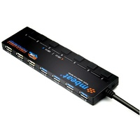 Mbeat 7 Port Powered USB3.0/2.0 Hub 4x USB3.0 3x USB2.0