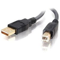 ALOGIC 1m USB 2.0 Cable Type A Male to Type B Male USB2-01-AB