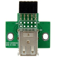 StarTech 2 Port USB Motherboard Header Adapter
