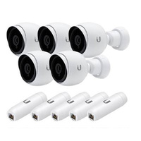 Ubiquiti Networks UVC-G3-AF 1080p FHD H.264 IP Surveillance Camera - 5 Pack