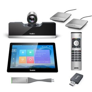 Yealink BUNDLE VC500-VCM-CTP-WP PRO CODEC VIDEO CONFERENCE SYSTEM WITH CTP20 TOUCH PANEL
