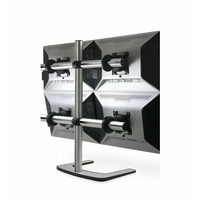 "Atdec Visidec Freestanding Quad Display for 12"" - 27"""