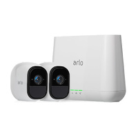 Arlo VMS4230 Arlo Pro Wire-Free HD Camera Security System with 2 HD Cameras