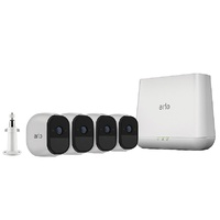 NETGEAR VMS4430 Arlo Pro Wire-Free HD Camera Security System with 4 HD Cameras