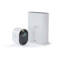 ARLO ULTRA 4K UHD WIRE-FREE SECURITY CAMERA SYSTEM - ONE CAMERA & SMART HUB - VMS5140