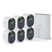 ARLO ULTRA 4K UHD 6 WIRE-FREE SECURITY CAMERA & SMART HUB - VMS5640