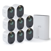 ARLO ULTRA 4K UHD 8 WIRE-FREE SECURITY CAMERA & SMART HUB - VMS5840
