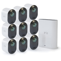 ARLO ULTRA 4K UHD WIRE-FREE SECURITY CAMERA SYSTEM - 9 CAMERAS & SMART HUB VMS5940
