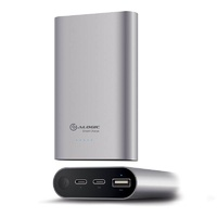 Alogic Prime Series USB-C 10200mAh 2.4A & 3A Portable Power Bank - Space Grey