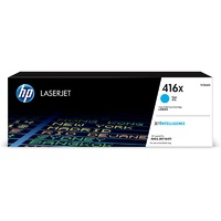 HP 416X High Yield Cyan Original LaserJet Toner Cartridge (W2041X)