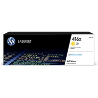 HP 416X High Yield Yellow Original LaserJet Toner Cartridge (W2042X)