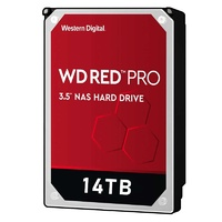 "WD WD141KFGX 14TB Red PRO 3.5"" IntelliPower SATA3 NAS Hard Drive"