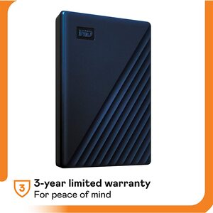 WD MY PASSPORT FOR MAC 5TB BLUE Portable Hard Drives