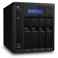 WD My Cloud EX4100 4-Bay Diskless NAS - Marvell 1.6GHz Dual-Core CPU, 2GB RAM