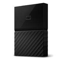 WD My Passport 4TB USB 3.0 Premium Portable Storage WDBYFT0040BBK - Black
