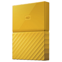 WD My Passport 4TB USB 3.0 Premium Portable Storage WDBYFT0040BYL - Yellow