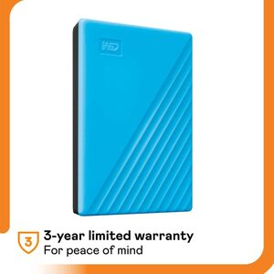 WD MY PASSPORT 2TB BLUE Portable Hard Drives
