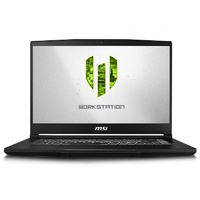 "MSI WP65 15.6"" Mobile Workstation i7-9750H 16GB 256GB+1TB Quadro P620 W10P"