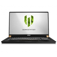 "MSI WS75 17.3"" Mobile Workstation i9-9880H 32GB 1TB Quadro RTX 4000 W10P"