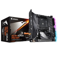 Gigabyte X570 I AORUS PRO WIFI AM4 Mini-ITX Motherboard