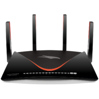 NETGEAR XR700 NighthawkPro Gaming WiFi Router. AD7200 Dual-Band Quad Stream with Geo Filter, QoS,Gaming VPN. Powered by DumaOS