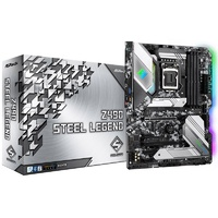 ASRock Z490 Steel Legend Intel LGA 1200 ATX Motherboard
